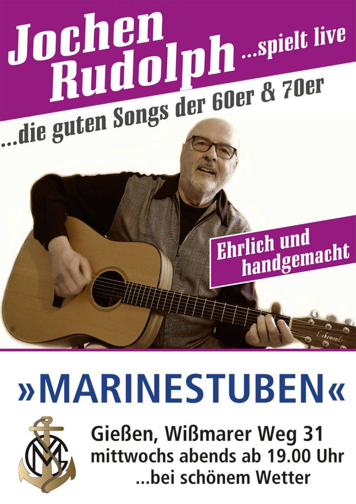 Plakat Jochen Rudolph Marinestuben